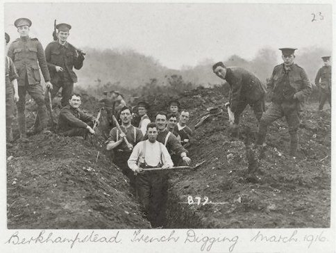 Uncovering WWI history on Berkhamsted Common